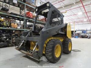 2005 Thomas 320SE Skid Steer Wheel Loader Aux Hyd Kubota Diesel -Parts/Repair