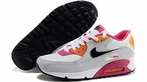 huge selection of 095f6 3f267 Image is loading NIKE-AIR-MAX-90-2007-YOUTH-GS-Size-