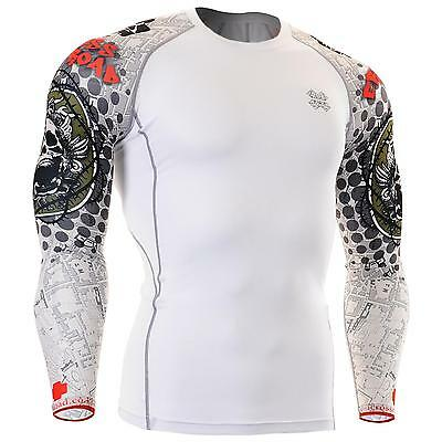 FIXGEAR CPD-W5 Compression Skin Tights Under Shirts MMA Workout Fitness GYM