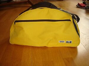 Visa Electron Yellow Black Sports Bag Gym Bag Tote Bag Fitness Gear Holdall - <span itemprop='availableAtOrFrom'>London, United Kingdom</span> - Visa Electron Yellow Black Sports Bag Gym Bag Tote Bag Fitness Gear Holdall - London, United Kingdom