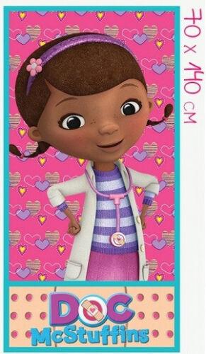 Kinder Handtuch Doc McStuffins Spielzeugärztin DISNEY Strandtuch Badetuch