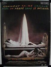 Affiche Cinéma COMMENT FAIRE L'AMOUR AVEC UN NEGRE 1989 BENOIT - 40x60cm