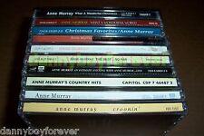 Anne Murray 13 CD Lot Christmas Country Gospel Christian Inspirational 184 Songs
