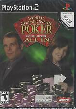 World Championship Poker Featuring Howard Lederer: All In (Sony PlayStation 2, 2006)