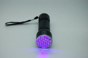 21 LED UV LED TORCH FLY TYING UV GEL  CURING TORCH HIGH QUALITY ,FROM UK