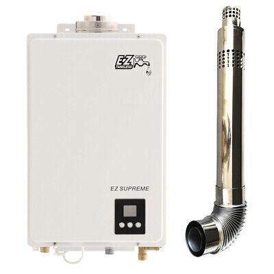 LPG w// Propane Regulator! EZ Camp Champ Portable CSA Tankless Water Heater