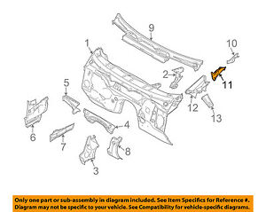 BMW-OEM-04-10-X3-Cowl-Center-Cover-Right-51713401654