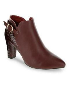 SIMPLY BE Bordo Ultimate Comfort Ankle