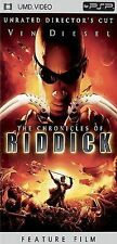 DVD The Chronicles of Riddick (Unrated) [UMD for PSP]  - Free Shipping