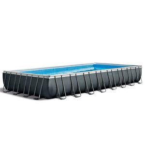 Intex-24-039-x-12-039-x-52-034-Ultra-XTR-Rectangular-Metal-Frame-Swimming-Pool-Set-Pump