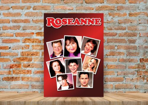 A3 A4 Sizes Roseanne Classic TV Show Poster or Canvas Art Print