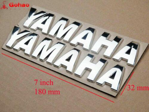 3D Fuel Gas Tank Fairing Emblem Badges Decal Sticker for Yamaha Motorcycles 18cm