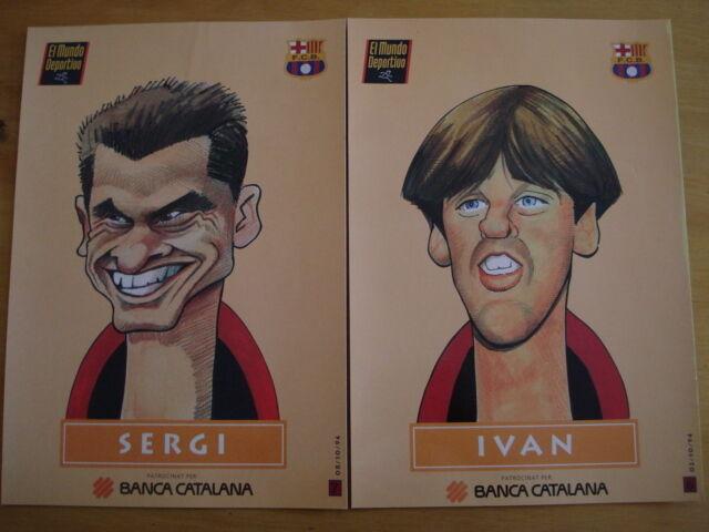 LOT DE 22 GRAVURES FOOTBALL EL MUNDO DEPORTIVO FCB FCB FCB FC BARCELONE ESPAGNE SPAIN afeac4