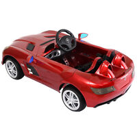 Ride On Mercedes Benz Z199 Electric Kids Car Licensed Mp3 Rc Remote Control Red