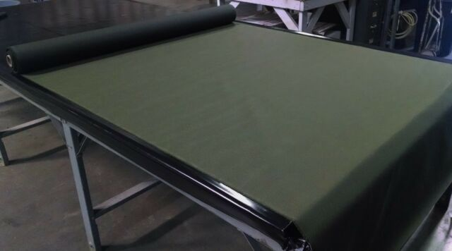 """OD GREEN 1000D WATER REPELLENT COATED OUTDOOR FABRIC CORDURA NYLON 60""""WIDE DWR"""