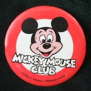 25mm pin button Badge disney series children adult Mickey Mouse old school