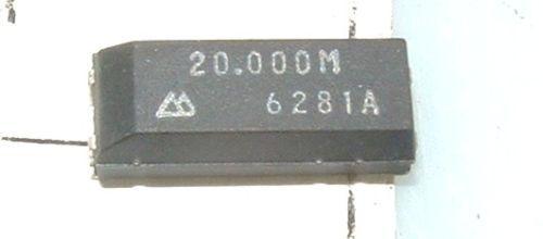 Paquete De 10 Seiko ma506 20 Mhz Cristal ma-50620.000