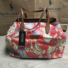 BNWT Ralph Lauren Tote Weekender handbag RRP £145 Canvas cotton £100% Genuine