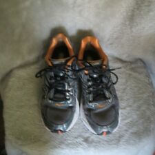 Saucony Omni 10 Mens Running Shoes Pro Grid Grey/Orange  Size 11