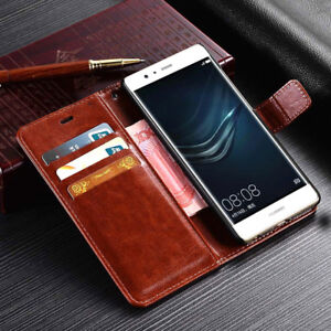 buy online bd411 39b5a Details about For Huawei P8 P9 P10 Lite Mate 20 Pro Magnetic PU Leather  Wallet Flip Case Cover