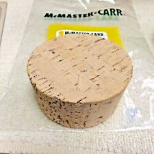 """Tapered CORK 3 Push-In Size 24 Round Cork Plugs, Fits 1-7//8/"""" Large End ID"""
