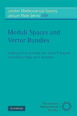 Moduli Spaces and Vector Bundles by Cambridge University Press (Paperback, 2009)