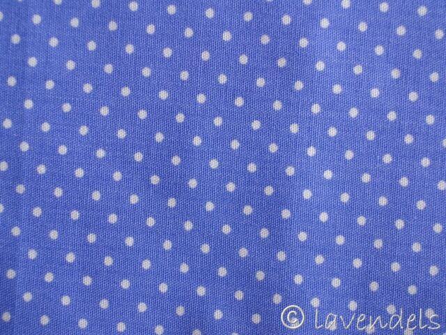 37x100 cm Stoff Punkte@Baumwolle Pünkchen lila dots flieder lavendel Ökotex 100