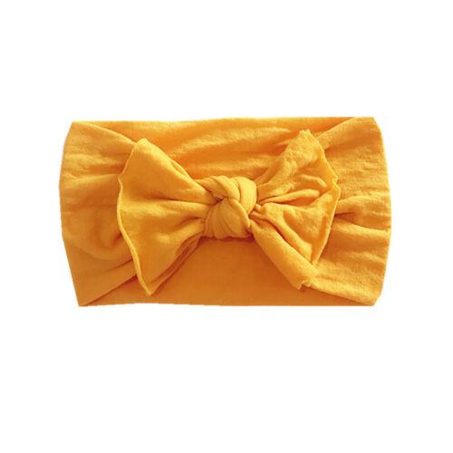 Bébé Lapin Bandeau Coton élastique nœud Hairband Filles Bandeau Bande