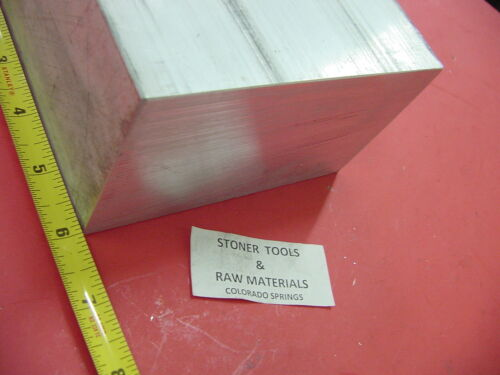"3/"" X 6/"" ALUMINUM 6061 FLAT BAR 6/"" LONG SOLID T6511 3.00/"" Plate Mill Stock"