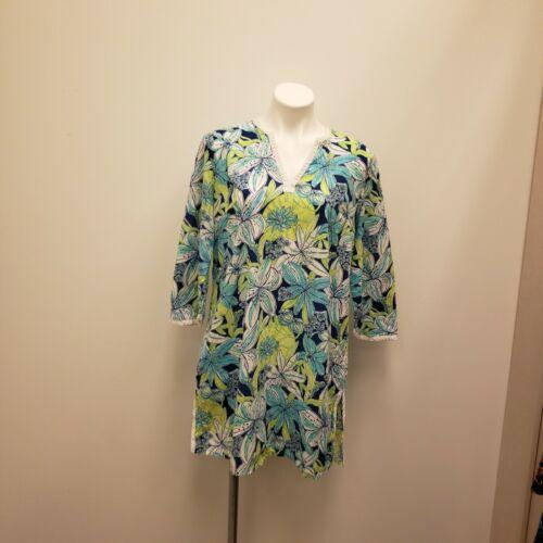 Lilly Pulitzer Tiger Lilly Tunic Mini Kaftan Dress