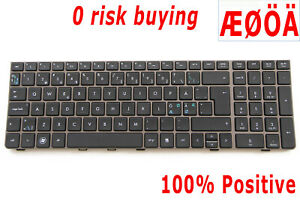 For-HP-Probook-4530S-4535S-4730S-638179-DH1-Keyboard-Nordic-Swedish-Dansk-Norsk