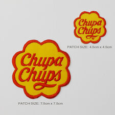 CHUPA CHUPS Twin Set Embroidered Iron-On Patch Set - Jackets, Bags, Cases - NEW