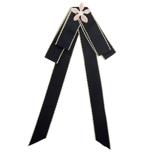 Lots Style Rhinestone Crystal Bow Tie Ribbon Brooch Pins for Women Jewelry