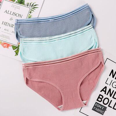 Women Soft Underpants Knickers Briefs Hipster Underwear Panties Cotton Blend