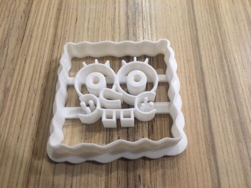 Spongebob Squarepants Cookie Cutter pour la Pâtisserie Fondant Pâte à Gâteaux Biscuits
