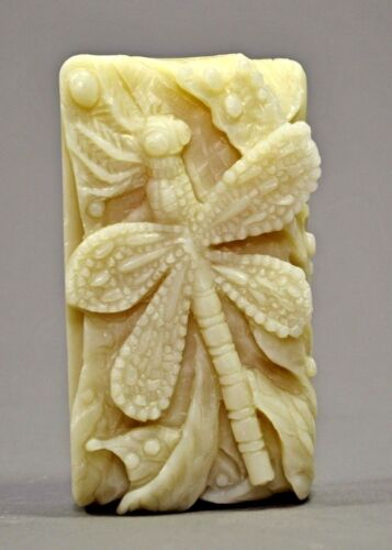 DRAGONFLY SILICONE MOULD SOAP RESIN PLASTER CLAY WAX MOLD  5,5OZ