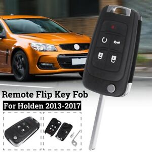 5-Buttons-Remote-Flip-Key-Shell-Blank-Case-Fob-Enclosure-For-Holden-Commodore-VF