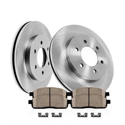 |Front Rotors w//Ceramic Pads OE Brakes 2000 2001 Ram 1500 2WD