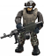 FIGURE #2 FROM MEGA CONSTRUX CALL OF DUTY Jungle Satcom Armory Set /& BONUS CHEST