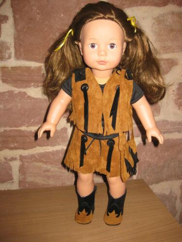 Puppenkleidung Set 1620 ohne Puppe 5-tlg 46cm Steh-Puppe,