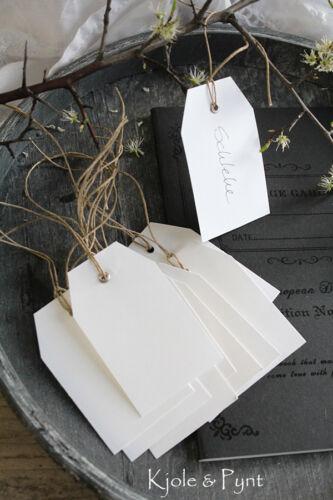 Hängeetiketten geöst Karton weiß Preisschild Manilatag Etikett 5x8cm 0,20€//St