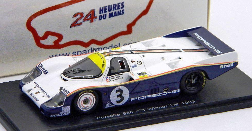 1983 Porsche 956 Nr. 3 Gewinner Le Mans 1 43 von Spark