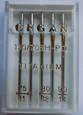 BLB74 Jersey// Ball Point Size 70-130//705H Organ Sewing Machine Needles