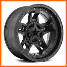 4 17x9 Xd Rockstar 3 Xd827 568 Lug New Black Wheels Rims Free Caps Amp Lugs
