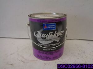 Details about Qty = 4 Gallons Dented: Sherwin Williams Quali-Kote Deep Base  Semi Gloss Latex