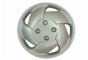"""Silver cyclone ensemble enjoliveur de roue 14 /""""pouces pneu voiture mic couvre caps estilo 62775a"""