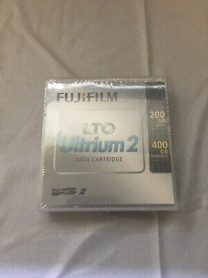 FUJI #26220001 200//400GB LTO-2 ULTRIUM DATA CARTRIDGE