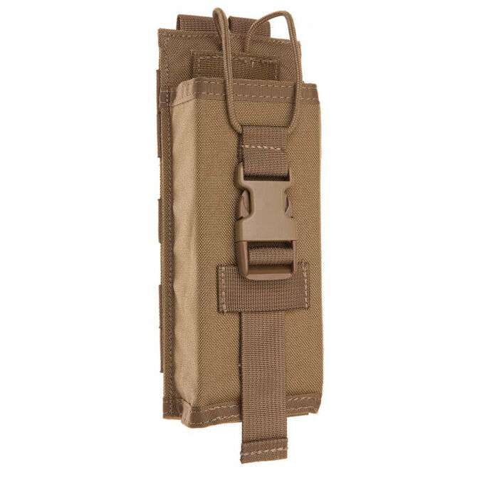 Tac Shield MBITR Radio Molle Pouch Coyote Brown USA Made