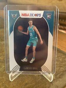 2020-21 NBA HOOPS LAMELO BALL BASE ROOKIE RC #223 CHARLOTTE HORNETS  HOT