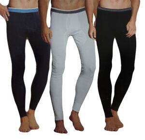 2-el-Pack-senores-larga-calzoncillos-con-intervencion-skiunterwasche-ropa-interior-pantalones